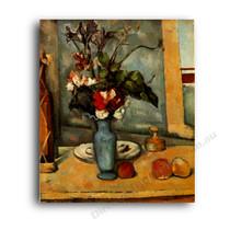 Paul Cezanne   The Blue Vase