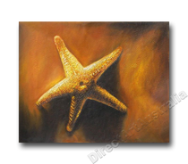 Offshore Star | Beach Art | Print Alternative Oil Painting