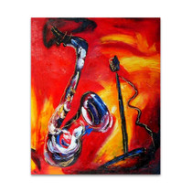 Jazz | Musical Art | Music Paintings Pictures
