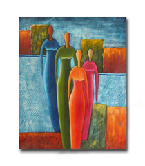 Multitude | Buy Art Online as Canvas Oil Painting Gifts for Ladies