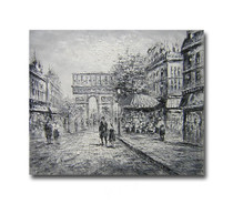 Dawn Two | Streetscape Art on Canvas Wall Hangings Online for Office