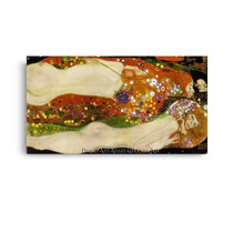 Klimt   Water Serpents II