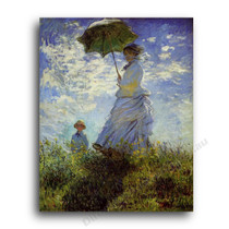Monet | The Woman with a Parasol