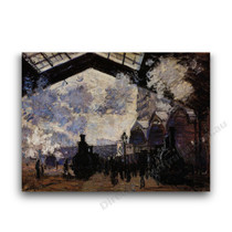 Monet | Saint-Lazare Station