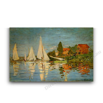 Monet | The Regatta at Argenteuil
