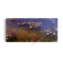 Monet | Purple Water Lilies