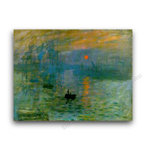 Monet | Impressionist Sunrise