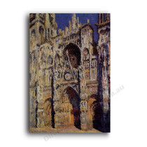 Monet | Rouen Cathedral in Full Sunlight
