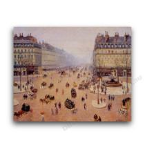 Camille Pissarro | Avenue de l'Opera, Misty Weather