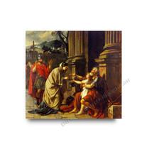 Jaques Louis David | Belisaire Demandant L'aumone