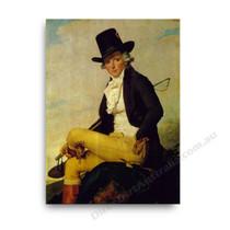 Jaques Louis David | Monsieur Seriziat