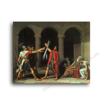 Jaques Louis David | The Oath of the Horatii