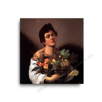 Caravaggio | Boy with a Basket of Fruit