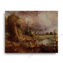 John Constable | Salisbury Cathedral from the Meadows