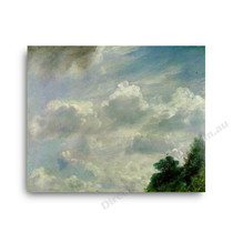 John Constable | Study of Clouds at Hampstead