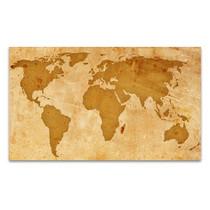 Rustic Pattern Map Art Print