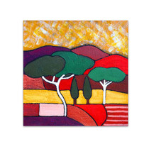 Angela Sharkey  │ Roman Pine in Autumn
