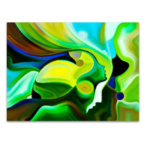 Colors of Fate Canvas Print