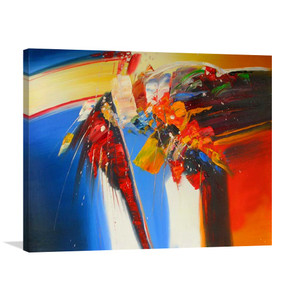 Collide One | Cheap Canvas Art & Abstract Artworks for Styling Lobbies