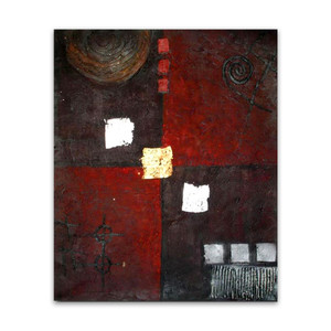 Mystification One | Abstract Art Oil Painting on Canvas for Bedrooms