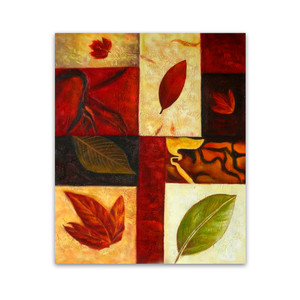 Leaves | Wall Canvas Art & Original Paintings for Sale for Living Room