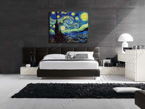 Starry Night on the wall