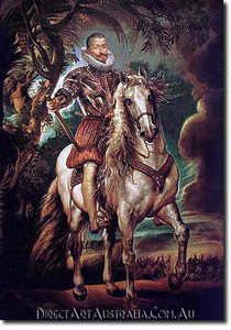 Paul Rubens | Equestrian Portrait of the Duke of Lerma
