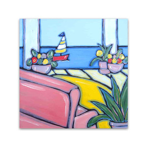 Brooke Howie │ Sailboat & Flowers