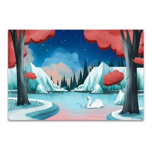 Swan Lake Story Art Print