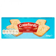 B150 Crawfords Nice Biscuits   12x 200g
