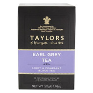 Taylors Speciality - Tagged Tea Bags - in Envelopes Earl Grey 6 x 20s