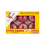 B126 Tunnock's Milk Chocolate Tea Cakes 32x 144g