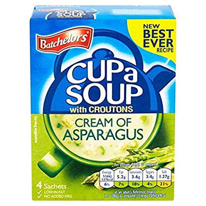 Batchelors Cream Of Asparagus with Croutons Cup A Soup