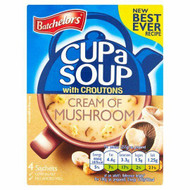 Batchelors Cream Of Mushroom with Croutons Cup A Soup 94g