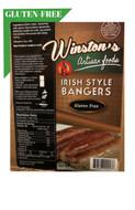 Winstons Irish Pork Bangers Gluten - Free 99%