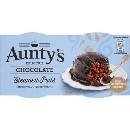 Aunty's Chocolate Pudding Syrup Pudding 2pk
