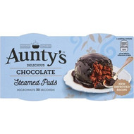 Aunty's Chocolate Pudding Syrup Pudding 2pk