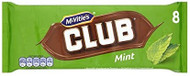 McVitie's Club Mint 15 x 8pk 176g
