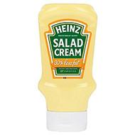 G340A Heinz Salad Cream Squeezy Light 10x 415g