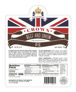 Crown Beef & Onion Pie