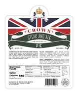 Crown Steak & Ale Pie