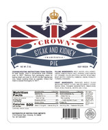 F635 Crown Steak  & Kidney Pie 12 x 6oz