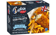 Findus - English Style 4 Battered Cod Fillets 15.5oz 440g