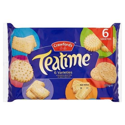 Crawfords Teatime Biscuits  275g