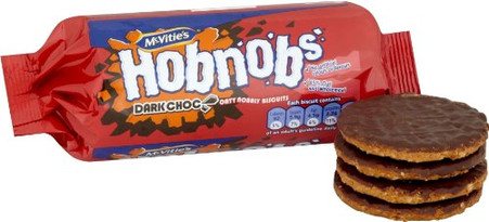 Mcvites Hob Nob Dark Chocolate