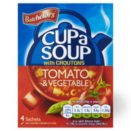 G294 Batchelors - Tomato & Vegetable Soup Cup a Soup 9x 94g