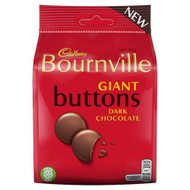 Bournville Giant Dark Buttons Bag 95g