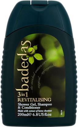 Badedas Bath Shower 3 in 1 Shower Gel - Shampoo - Conditioner 200ml