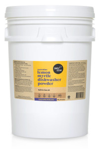 Simplyclean Lemon Myrtle Dishwasher Powder with built-in rinse aid - 15 kg