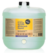 Simplyclean Lemon Myrtle Dishwash Liquid - 15 litres